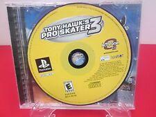 Tony Hawk's Pro Skater 3 (Sony PlayStation 1, 2001) NO MANUAL or FRONT CASE ART