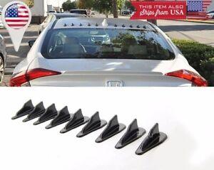 9 x Bumper Diffuser windshield Roof Spoiler Vortex Generator for Nissan Infinit