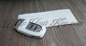 blanco-fibra-de-carbono-Llave-Envolvente-Cubierta-AUDI-Smart-Mando-A1-A3