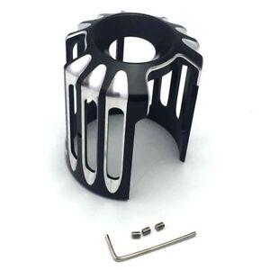 CNC-Cut-oil-filter-Cover-Trim-Olfilter-Abdeckung-Trim-fuer-Harley-Harley-Davidson