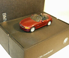 BMW 80410144026 BMW Z4 Roadster Rot 1/87  NEU & in OVP Dealer Edition