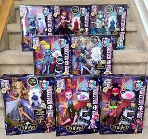 Are still Monster high 13 wishes dolls thanks