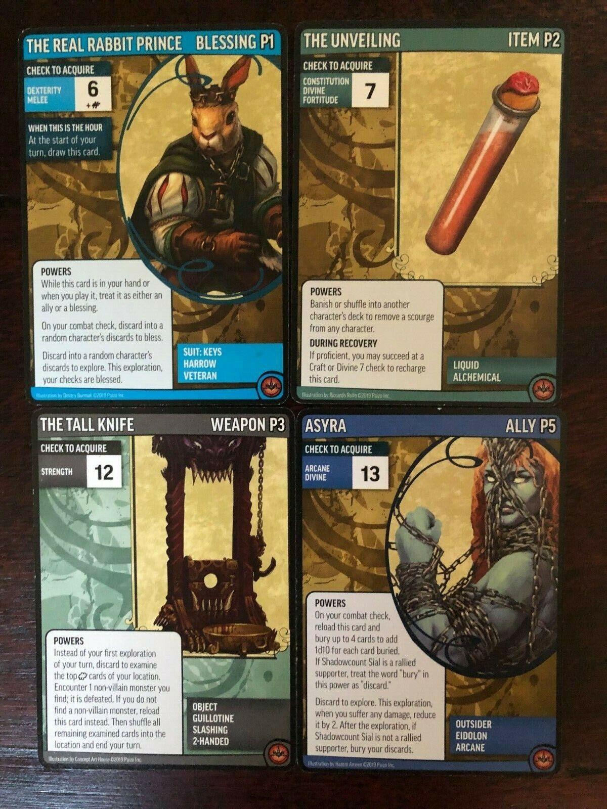 Pathfinder Adventure autod gioco Revied edizione 2E Core Expansion 4 autote Promo