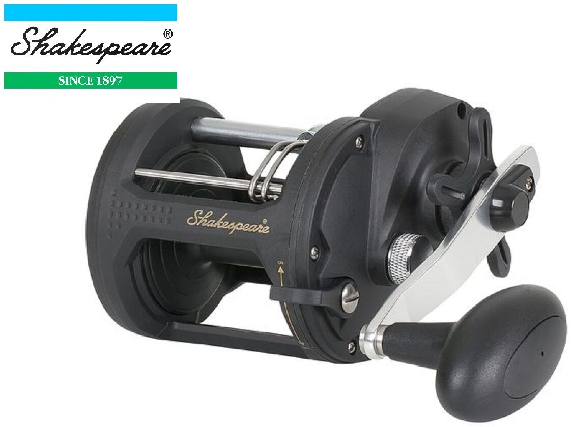 Shakespeare Sigma Supra Multiplier Sea Fishing Reel Beach or Boat size NEW Model