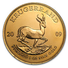 2009 1 oz Gold South African Krugerrand Coin - Brilliant Uncirculated -SKU#47755