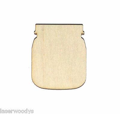 Baby / Canning Jar Unfinished Wood Shape CJ729 Crafts Lindahl Woodcrafts