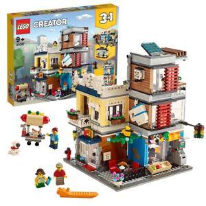 LEGO-creator-maison-Pet-Shop-amp-CAF-31097