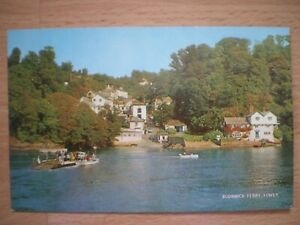 BODINNICK-FERRY-FOWEY-POSTCARD-SALMON-CAMERACOLOUR-UNPOSTED