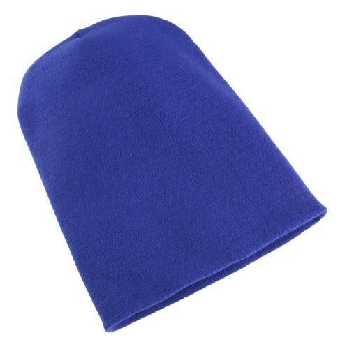 New Unisex Flexfit by Yupoong Super Dense Knit Heavyweight Long Beanie One Size