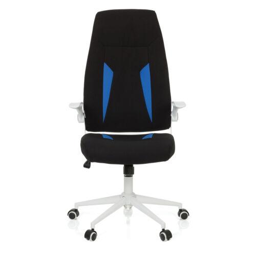 hjh OFFICE Gaming Stuhl Armlehne Bürostuhl Chefsessel Drehstuhl GLORIUS Stoff