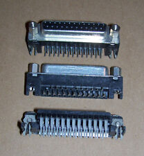 NEW DB 25 DB25 female right angle PCB solder socket Atari Amiga computer port