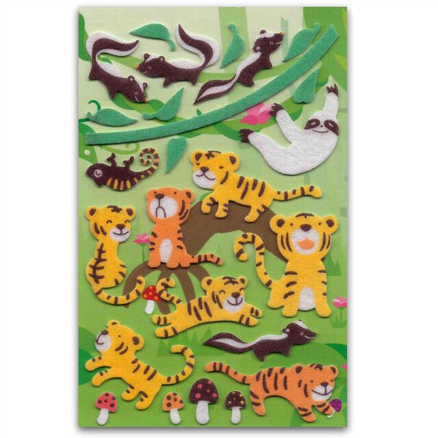 CUTE ALPACA /& SHEEP STICKERS Llama Animal Craft Scrapbook Raised Sticker Sheet