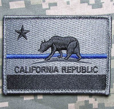 California State Flag Tactical Morale Hook Patch