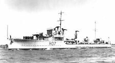 ROYAL NAVY WWII D CLASS DESTROYER HMS DEFENDER - LOST IN JULY 1941