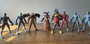 "Mighty Morphin Power Rangers (2010) 8 Figure Set ""Evil Space Aliens"""