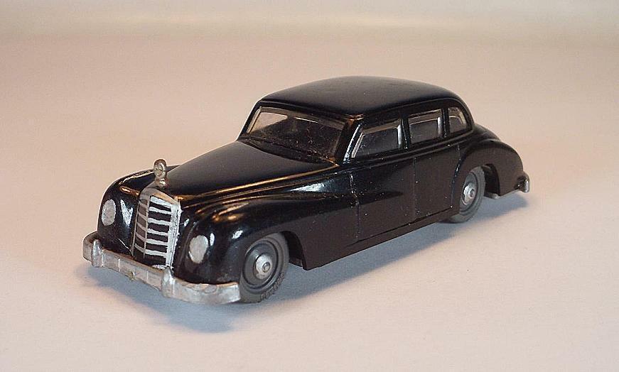 Siku Plastik V 1 Mercedes 300 Modell 53 1955-1961 schwarz V-Serie  1453