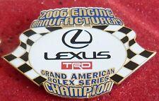 PIN'S COURSE USA LEXUS GRAND AMERICAN ROLEX SERIES TRD 2006 EGF MFS