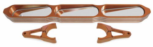 Modquad UTV 3-Panel Rear View Mirrors Billet For Kawasaki Polaris R-MIR-6-OR