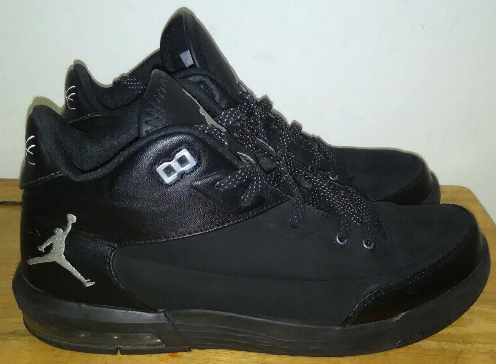 fd64973d Nike Air Jordan Origin 3 Black Metallic Silver Basketball shoes Size 9