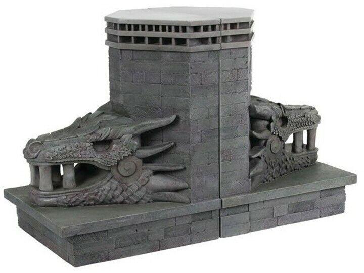 Game of Thrones Peyrougeragon Gate 27 pouces Serre-livres