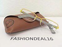 Authentic Rayban Yellow Gray Rb6264 2798 Eyeglasses