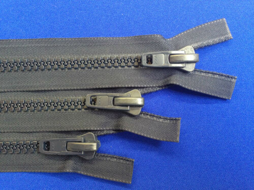 ZIP open end Navy YKK in Plastica Anti Ruggine 10 peso a trama grossa tutti Plastica Heavy Duty