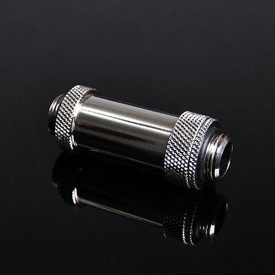 """Barrow G1/4"""" Silver 41mm - 69mm Retractable Adjustable Aqua Link Pipe -112"""