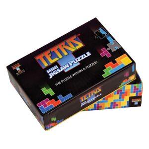 TETRIS Puzzle 100 Teile SEHR SCHWER in Geschenkschachtel Tetris Mini Jigsaw