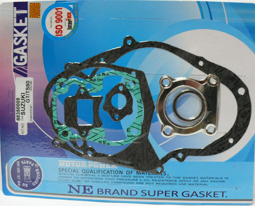 TS 80 new KR Motorcycle engine complete gasket set for SUZUKI RM 80 GT 80..