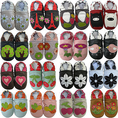 carozoo shoeszoo bébé chaussons enfant chaussures cuir crib shoes Garçon fille | eBay