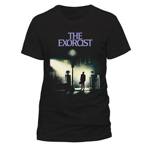 Official-The-Exorcist-Poster-T-Shirt-Movie-Sheet-NEW-Classic-Horror-Film-Art