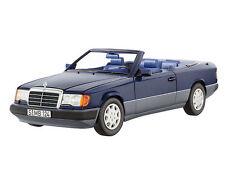 NOREV MERCEDES BENZ W124 300CE Cabriolet E Klasse Blue Dealer 1:18 LE 500 Rare!