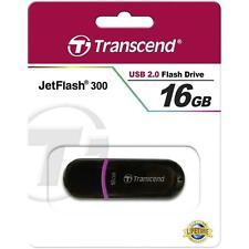 Transcend JetFlash 300 16GB USB 2.0 Flash Memory Pen Drive Stick TS16GJF300