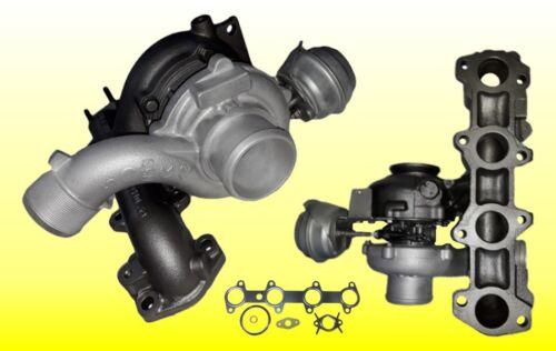 juego de juntas Turbocompresor Fiat Stilo croma II 1.9 JTD 88kw 767835-5009s incl