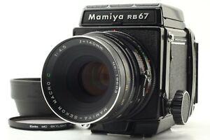 Eccellente-5-Mamiya-RB-67-Pro-con-Sekor-C-Obiettivo-Macro-140mm-F4-5-dal-Giappone