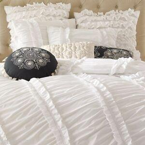 6-pc anthology clara ruffle comforter set french country shabby