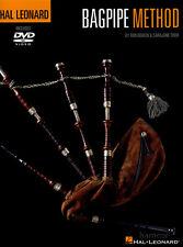 Hal Leonard Bagpipe Method Music Book/DVD Learn How to Play Beginner Method