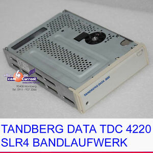 Computer, Tablets & Netzwerk Band-/datenkassettenlaufwerke Tandberg Data Tdc 4220 Slr4 2.5gb Bandlaufwerk 50-pol Scsi Tape Drive Ok #k553
