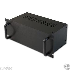 "SG1154 11"" Rack Mount DIY Audio Preamp Amplifier Chassis Enclosure Case Mixer"