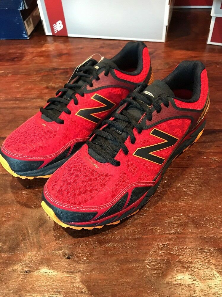 Mens New Balance MTLEAD3 shoes Size 10 Sneakers V3 Trail Red New