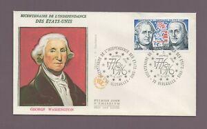 FDC 1976 - Bicentenario Independencia Estados Unidos - George Washington