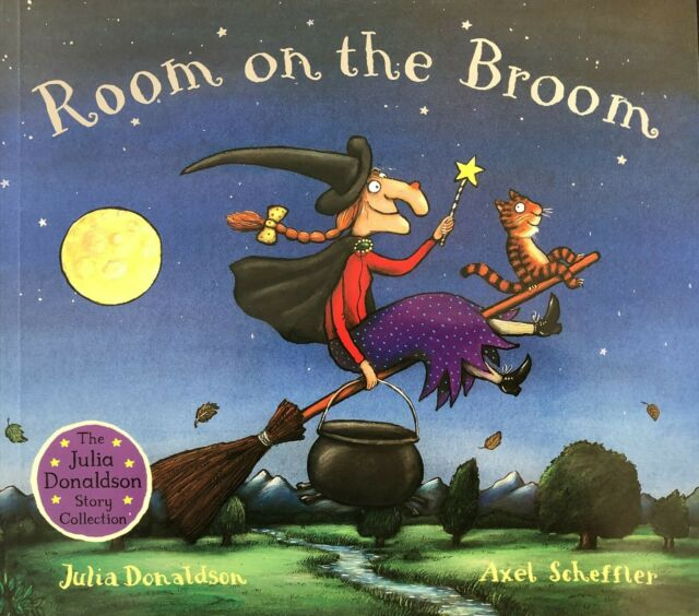 Julia Donaldson Story Book: ROOM ON THE BROOM Story Book - Paperback 2019 - NEW