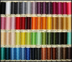 GUTERMANN-SEW-ALL-100-POLYESTER-COTTON-SEWING-THREAD-100M-SPOOLS-MACHINE-HAND