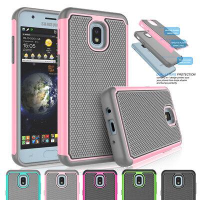 on sale 96910 efe5e For Samsung Galaxy J7 Refine/J7 2018/J7 Aero Phone Case Hybrid Rugged Hard  Cover | eBay