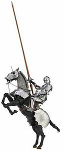 Takeya-15th-Gothic-Equestrian-Armor-Silver-147mm-figure-KAIYODO-Anime-From-JAPAN