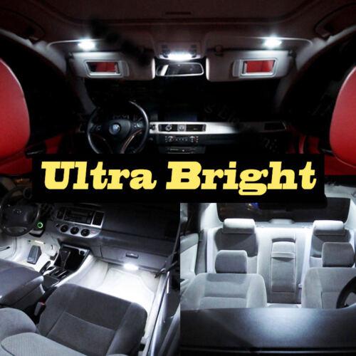 8Pc Super White Car Interior LED Light Bulb Kit for 2000-2009 Honda S2000