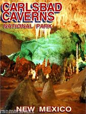 Carlsbad Caverns National Pk New Mexico United States Trvl Advertisement Poster