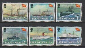 Isle-von-Mann-1980-Dampf-Packung-Co-Schiffe-Set-MNH-Sg-170-5