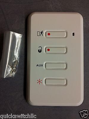 5PK GE Wireless Wall Fob Keyfob TX-3010-01-1 Security Simon XT Concord XTI
