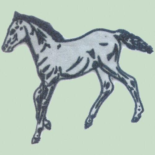 Aplicación Patch aufnähwappen-niños motivo caballo ♥ ♥ proyectar reflejos ☆ 00920 ☆